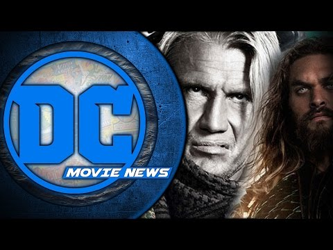 Dolph Lundgren In Aquaman, Justice League Posters & More! - DC Movie News