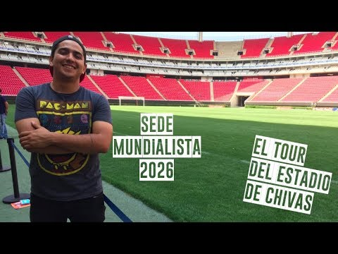 Así es: El estadio Akron (Tour del Estadio de Chivas🐐)