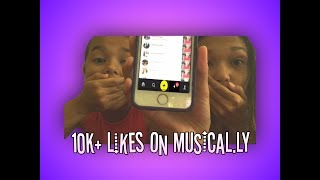 10K+ LIKES ON MUSICAL.LY | MUSICAL.LY HACKS | L and G Productions