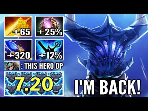 OMG! 500 DMG AOE BURN 7.20 Unstable Razor Rework is OP Most Epic Combo ft Void by Link WTF Dota 2