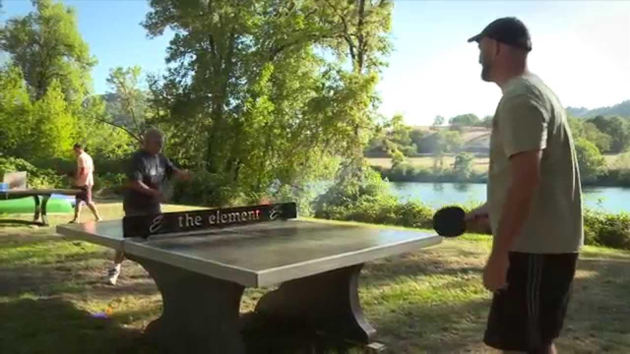 Weatherproof Table Tennis Table Kettler Stockholm Outdoor