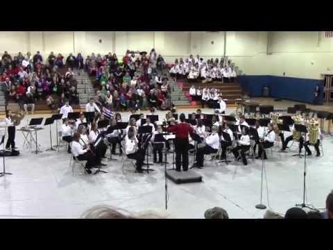 North Jefferson Middle School Christmas Concert Part 6