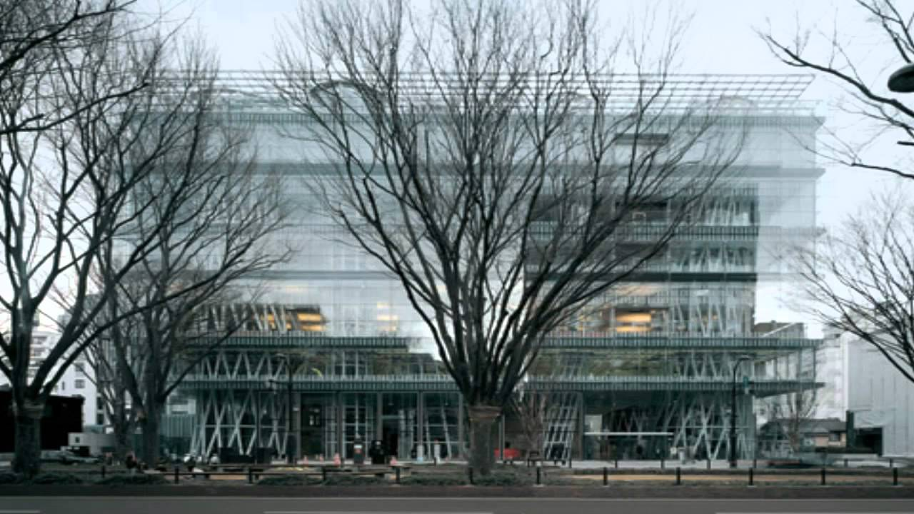 The Sendai Mediatheque - Toyo Ito - YouTube