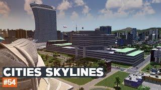 Cities Skylines #54   Szpital Wojskowy i modernizacja ZOO