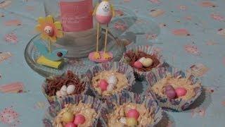 Chocolate Egg Nest DIY | Picnic