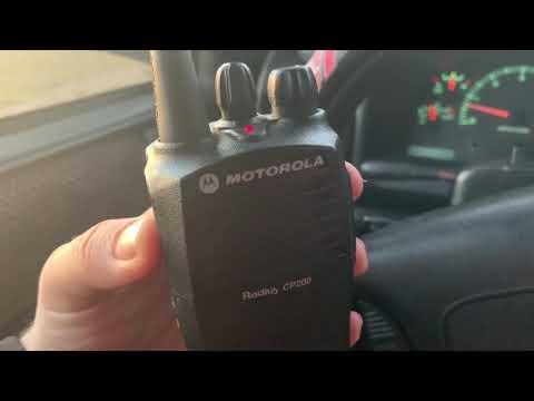 Motorola CP200 Range Test