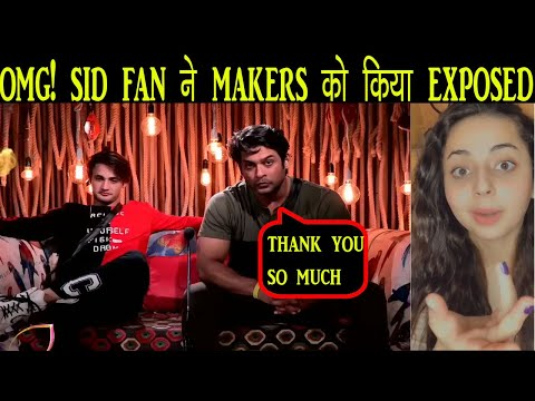 Bigg Boss 13 | SHOCKING Siddharth Shukla Fan BEFITTING Reply To Makers, Today Episode Preview