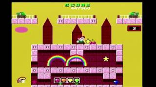 Rainbow Islands Review for the PC Engine CD and Turbografx CD by Second Opinion Game