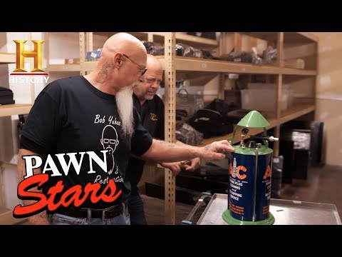 Pawn Stars: 1930s AC Spark Plug Cleaner (Season 14) | History