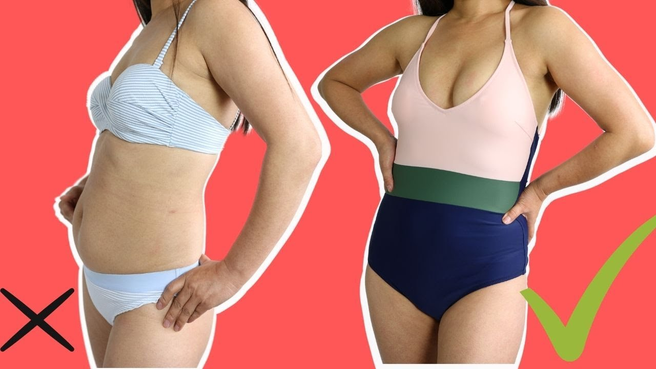 Swimsuits to Hide your Tummy? I tried everything and this is what ACTUALLY works