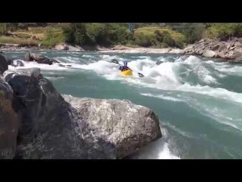 Kayaking the Tamur River in Nepal