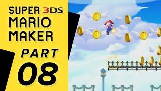 Super Mario Maker 3DS - Super Mario Challenge: WORLD 08