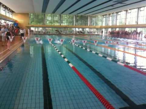 Mich le 50m nl metz youtube for Piscine lothaire