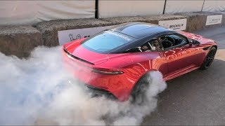 The Best Supercar Burnouts and Launches at GoodWood 2018