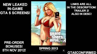 GTA 5 - IN-GAME PICS LEAKED!!