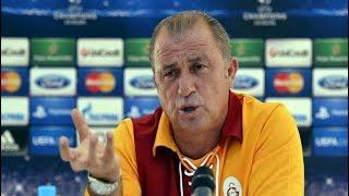 Fatih Terim, Schalke maçı öncesi basın toplantısı düzenledi