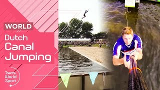 Canal Jumping    Holland's Oldest Sport!   Trans World Sport