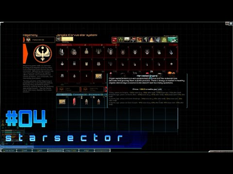Starsector (v0.7.1a) First Look - #04 - Organs