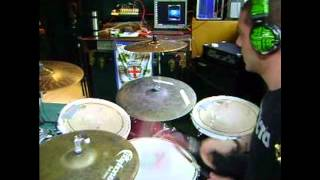 Nofx-Stranger than fishin drum cover