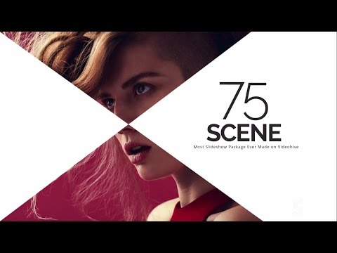 75 Fashion Promotional Video Slideshow - After Effects Template