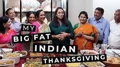 VLOG! My Big Fat Indian Thanksgiving | Deepica Mutyala