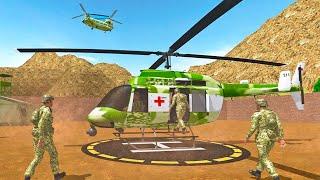 Водій вертольота солдатів армії США транспортний обов'язок - грі Offroad Андроїд ігри