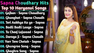 Sapna Choudhary New Haryanvi Songs    New haryanvi Jukebox 2021    Superhit Songs of Sapna Choudhary