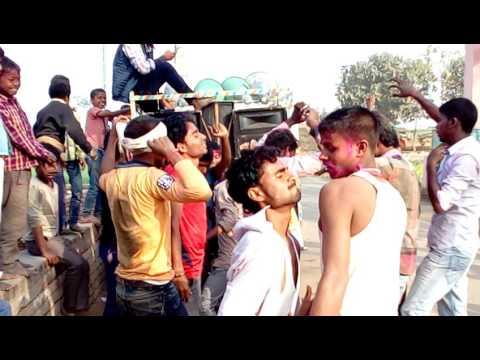 Holi group dance sunderpur Bikram patna 2017