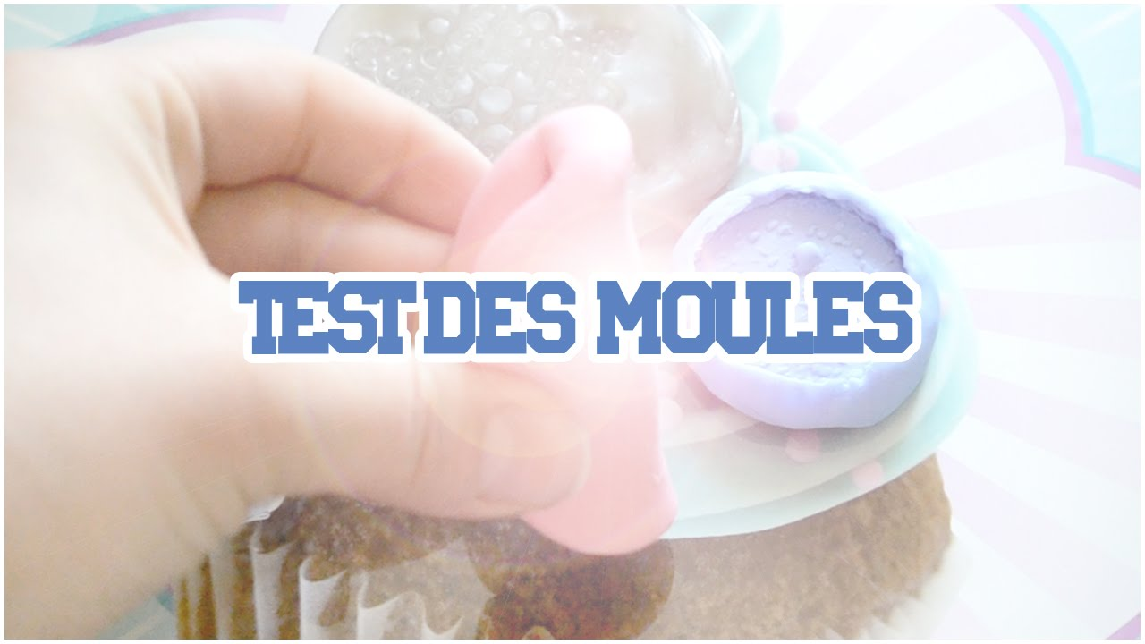 Test des moules SILIGUM, COLLE,FAIT MAISON, OYUMARU - YouTube