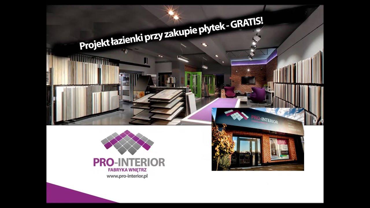 Pro Interior Reklama Salon Wnętrz Płytki Ceramiczne Projekt Gratis