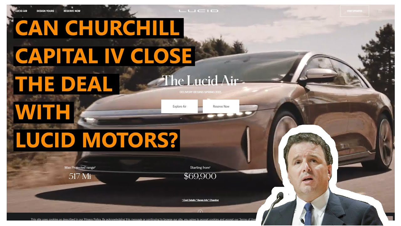 Churchill Capital IV soars on confidence in SPAC deal with Lucid ...
