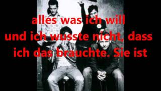 The Fray - She is lyrics german