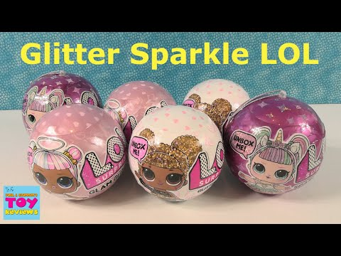 LOL Surprise Glam Glitter Sparkle Doll Palooza Unboxing Toy Review | PSToyReviews