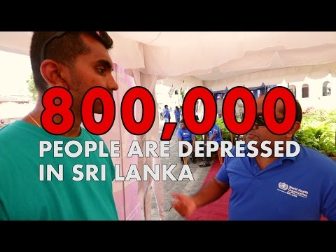 Depression #LetsTalk Sri Lanka / WHO / World Health Day - vlog 090