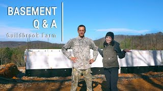 The Dirt: ICF Basement Q&A - Answering Your Questions