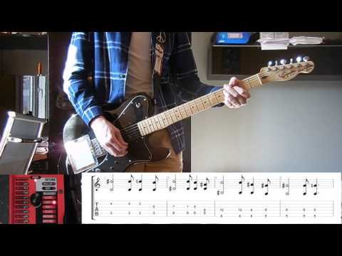 Muse - Map of the Problematique guitar cover with tabs and Whammy controller