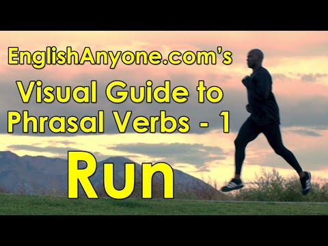 Phrasal Verbs with Run - Visual Guide to Phrasal Verbs from EnglishAnyone.com