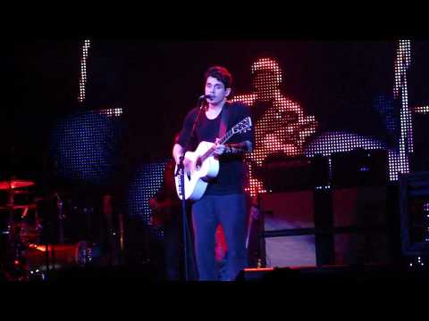 All We Ever Do Is Say Goodbye- John Mayer. Live. Tampa, FL