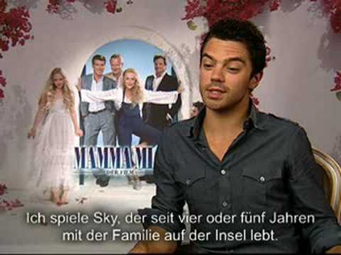 MAMMA MIA!. Interview Amanda Seyfried - Dominic Cooper ...