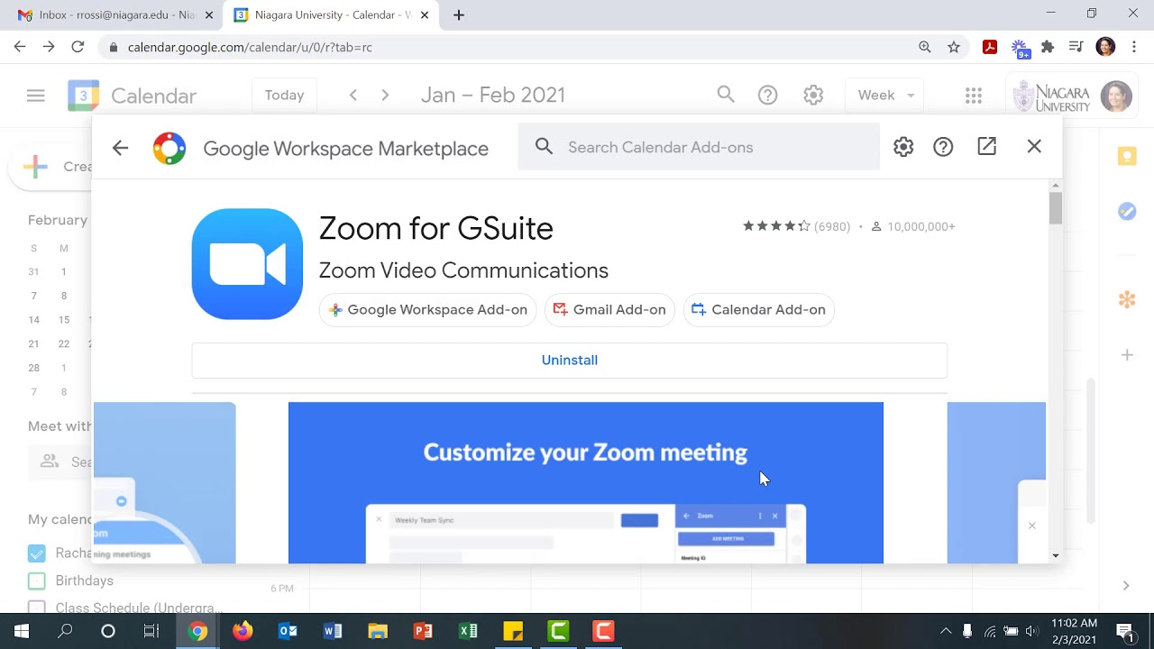 Adding Zoom to Your Google Calendar Meeting Invitations