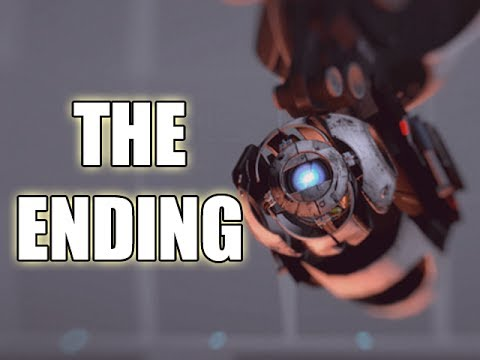Let's Play Portal 2 - THE ENDING (Gameplay & Commentary)