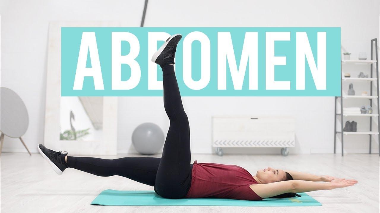 ejercicios para abdomen 8 minutos