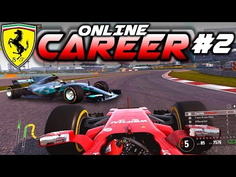 F1 2017 Online Career Mode Part 2: CHAOTIC RACE! DISASTER FOR MERC!