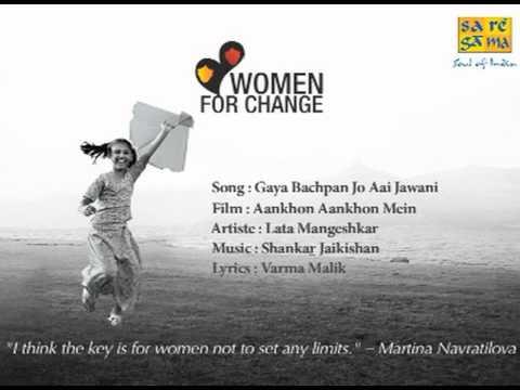 Gaya Bachpan Jo Aai Jawani - Aankhon Aankhon Mein