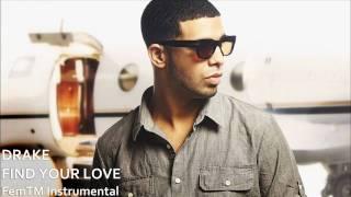 Drake - Find Your Love (Instrumental + Backings)