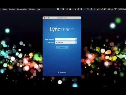 How To Get Microsoft Lync For Mac Os Working In El Captain