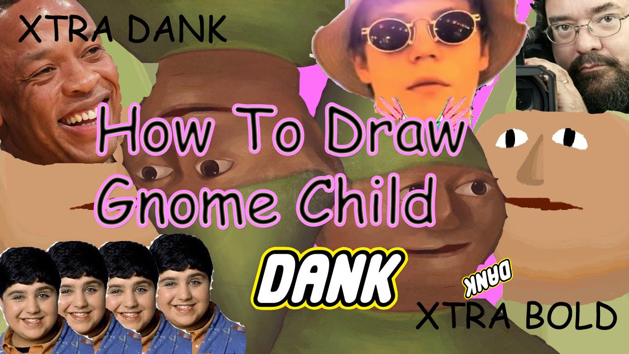 How To Draw The Gnome Child - Drawing Dynamics - EP14 SE2 - YouTube