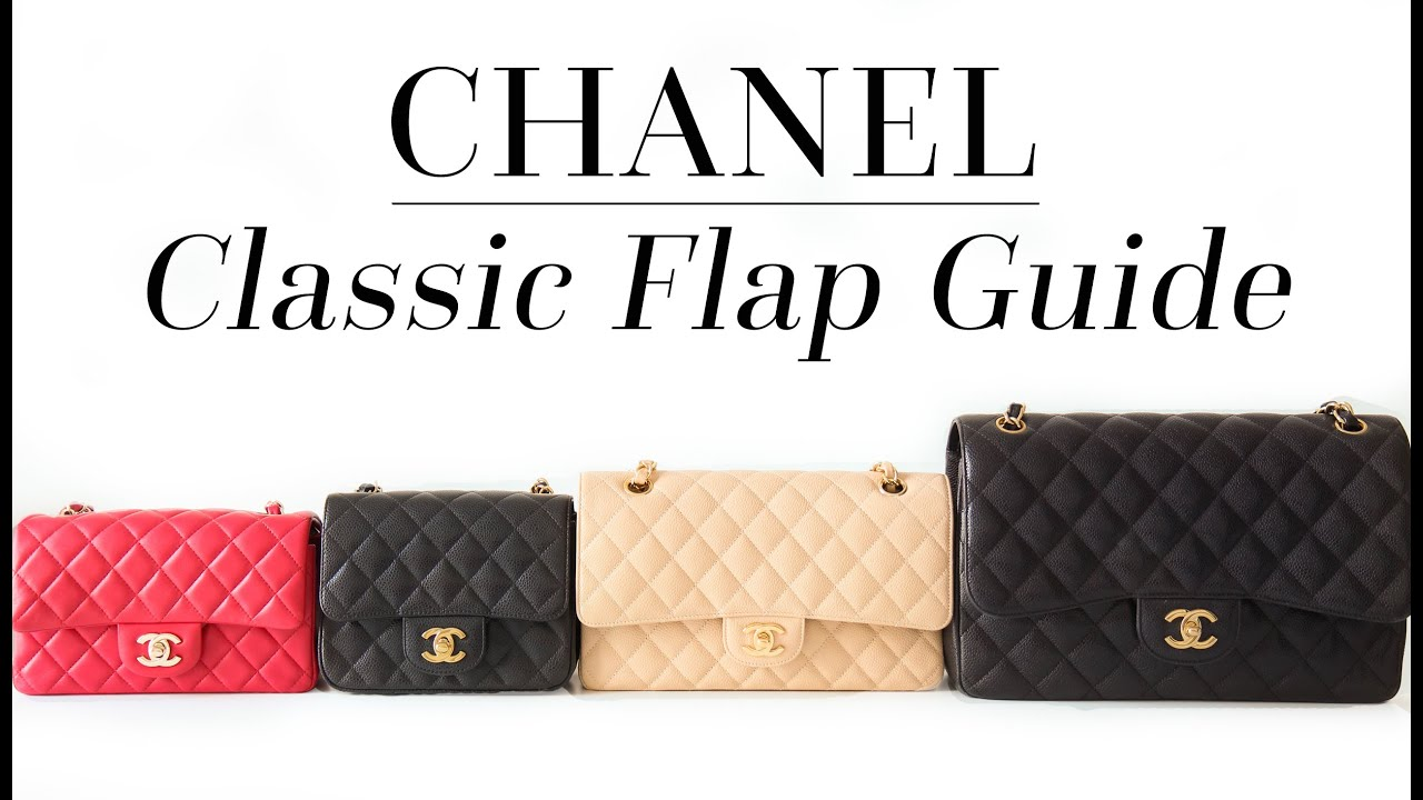 45ec8494a6fe THE ULTIMATE CHANEL CLASSIC FLAP GUIDE - YouTube