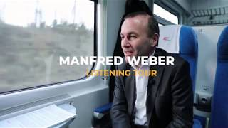 Manfred Weber - Listening Tour Website
