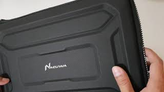 Review: Nacuwa Rugged Laptop Sleeve 13-Inch for Macbook Pro 2019 (Hard shell and Heavy duties)